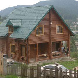 Продам будинок (зруб), смт. Славсько