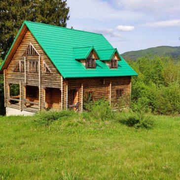 Продам будинок (зруб), смт. Славське