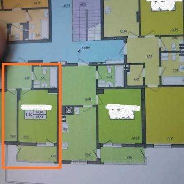 Продам 1 кімнатну квартиру, вул. Манастирського